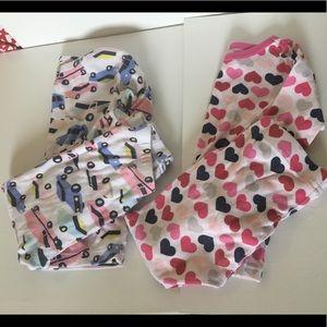 Long sleeve and pants pajama sets